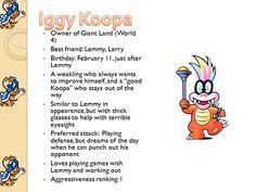 Profiles: Iggy Koopa