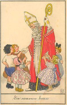Ansichtskarte, Sankt Nikolaus