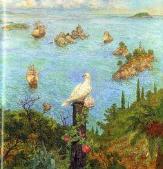 çizgili masallar: The Wild Swans by Anton Lomaev