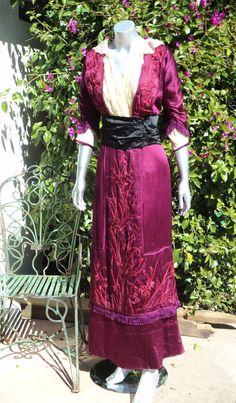 1910s day dress