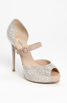 Free shipping and returns on Valentino 'Microstud' Mary Jane Pump at Nordstrom.com. Ladylike proportions perfect a crystallized pump glittering with aisle-worthy effervescence.