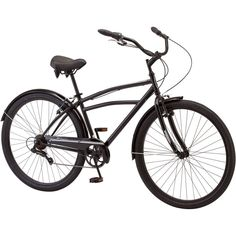 Mens Cruiser Bike 29 Inch Steel Bicycle with Padded Seat 7 Speed Pull Brakes New #Schwinn