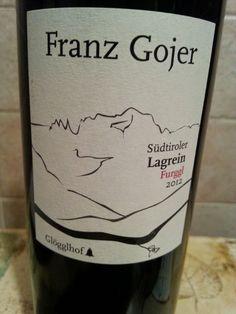 FURGGL  ALTO ADIGE LAGREIN DOC (2012) - FRANZ GOJE...