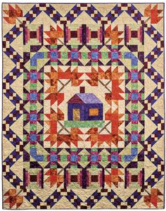 Make this cozy new quilt by Linda J. Hahn and Deborah Stanley.