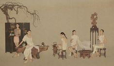 孫郡是國內知名的時尚攝影師之一, 他的攝影作品中的古典氣息和中國風深受各大服裝品牌的青睞,《茶經》系列是他為上海本土設計師品牌LA VIE拍攝的新作