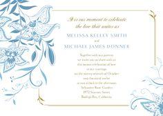 Wedding Invitations - Summer Lilies