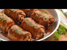 Rinder rouladen,rollos de res,receta típica alemana
