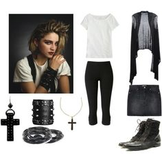 """80's Madonna (my favourite!)"" by jem85 on Polyvore"