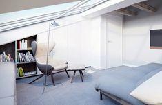 APARTAMENT 08 STRADOMSKA / Młynarski Architektura – nowoczesna STODOŁA   wnętrza & DESIGN   projekty DOMÓW   dom STODOŁA