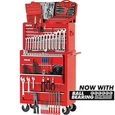 Clarke Mechanics Tool Chest and Tools Package - Machine Mart Mechanic Garage, Mechanic Tools, Work Tools, Car Shop, Automotive Tools, Garages, Woodworking Tips, Tool Box, Packaging