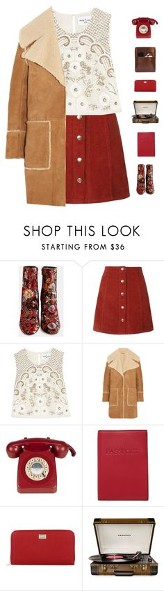 """Forever"" by genesis129 ❤ liked on Polyvore featuring Needle & Thread, M.i.h Jeans, Lodis, Dolce&Gabbana, Crosley, Palila and vintage"
