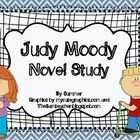 Here is a packet for all your JUDY MOODYs first book, In a Bad Mood book  needs.  This packet includes:  Making Predictions for each chapter chart  C...