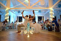 Newlywed Shoe Game - Hyatt Resort - with uplights - Key West FL