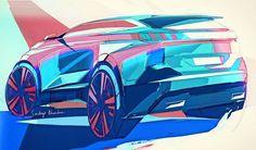 Another sketch for the new PEUGEOT 5008 revealed today - design by Sandeep Bhambra #peugeot #peugeot5008 #new5008 #newpeugeot5008 #peugeotdesign #cardesign #design #automotivedesign #suv #newsuv #quartz #peugeotquartz #instacars #designsketch #sketch #sketches #drawing #illustration