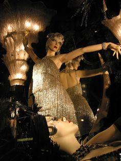 Mannequins at Biba