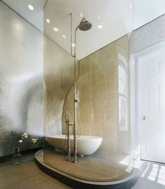 This type of shower feels SO GOOD.   #dreambathroom
