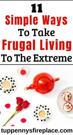 Some great ideas on extreme frugality. Practical tips on how to be super frugal without being an extreme cheapskate. Living On A Budget, Frugal Living Tips, Frugal Tips, Simple Living, Extreme Cheapskates, Money Saving Tips, Money Tips, Saving Ideas, Frugal Meals