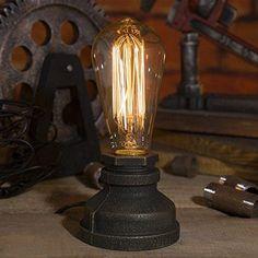 Desk Lamps Vintage Ceramic Lamp Wood Edison Decoration Retro Bedside Lights For Bedroom Table Light Lamparas De Mesa Desk Lamps Lights & Lighting Desk Lamps