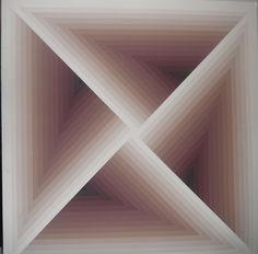 Frank Stella Print by casscntyman, via Flickr