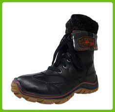 Womens Alice Black/Purple Snow Boot - 39