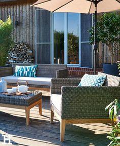 Stilvolle Loungemöbel Für Die Terrasse. #lounge #möbel #idee #inspiration # Set. LoungesTerraceBalconyGarden