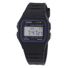 BARGAIN Casio F-91W-1YER Men's Resin Digital Watch JUST £6.85 At Amazon - Gratisfaction UK Bargains #casio #bargains