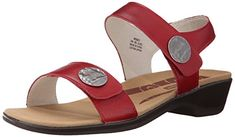 Propet Women's Annika Slide Sandal, Cayenne, 7 2E US ** Continue to the product at the image link.