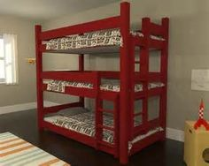 triple bunk bed - Bing Images
