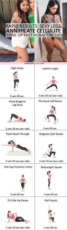#womensworkout #workout #femalefitness Repin and share if this workout gave you sexy smooth legs! Click the pin for the full workout. www.musclesaurus....