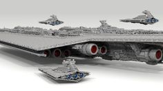[LDD MOC] 71,000 piece, 13-foot Super Star Destroyer - LEGO Star Wars - Eurobricks Forums