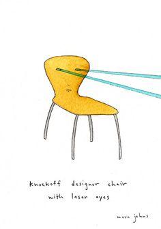 marc johns chair