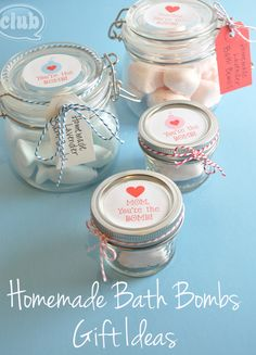 Homemade Bath Bombs for Mom #myperfectmothersday