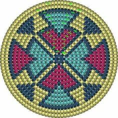 Tapestry Crochet Patterns, Crochet Stitches Patterns, Crochet Chart, Bead Crochet, Crochet Motif, Stitch Patterns, Seed Bead Patterns, Cross Patterns, Beading Patterns