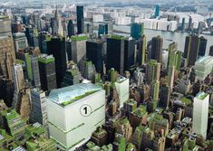 Terreform, Inc. Proposes Covering NYC With Vertical Gardens