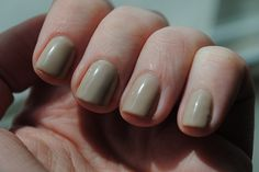 SensatioNail 'Taupe Tulips' by TartanHearts, via Flickr #nails #manicure