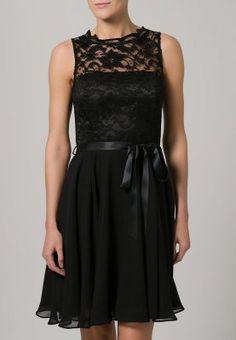 Swing - Cocktailkleid / festliches Kleid - schwarz