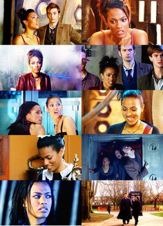 So many people hate Martha, but I loved her.  She was real.  She loved the Doctor who could never love her back.  She brought Mr. Smith back.  She, too, was a doctor.
