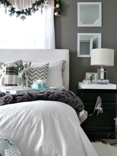 Kristin Cadwallader's glam and modern holiday home