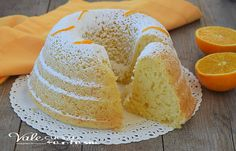 CIAMBELLONE ALL ACQUA con succo di arance ricetta leggera senza uova, senza grassi, profumata e facilissima da preparare, un dolce sofficissimo