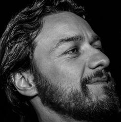 James McAvoy- I've never found beards attractive before but this man, mmm, he makes me like it.