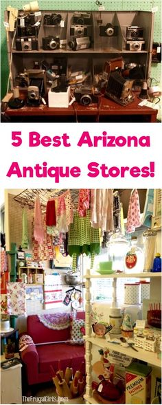 5 Best Arizona Antique Stores!  Where to find the best antiques and vintage treasures in the Phoenix area! | TheFrugalGirls.com