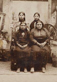 Osage women - circa 1880
