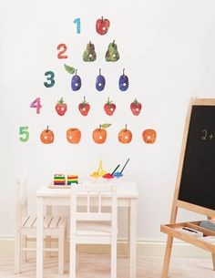 The Very Hungry Caterpillar - Eric Carle Room Decor Kit is down to just £22.50 at Simply Rooms. Great Wall Stickers.