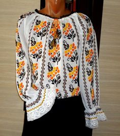 Imagini pentru modele ie femei Textiles, Embroidery, Long Sleeve, Sleeves, Tops, Women, Fashion, Woman, Needlework