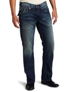 True Religion Men's Ricky Super T Straight Jean