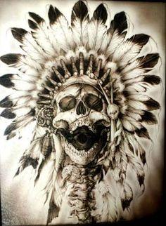 Resultado de imagem para indian skeleton painting