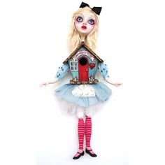 #alice_in_wonderland #doll by Sheri DeBow