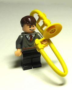 Lego Trombonist