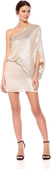 online shopping for Halston Heritage Women's One Shoulder Jacquard Sleeve Dress from top store. See new offer for Halston Heritage Women's One Shoulder Jacquard Sleeve Dress Women's Plus Size Shorts, Ted Baker Womens, Long Evening Gowns, Halston Heritage, Fit Flare Dress, Women's Fashion Dresses, Contemporary Dresses, Dresses With Sleeves, Clothes For Women