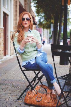 Cherry verzichtet ausnahmsweise mal auf Kaffee und trinkt Tee ;)